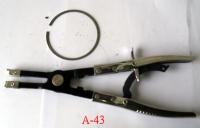 Adjustable piston spring pliers