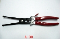 Exhaust pipe hose clamp pliers