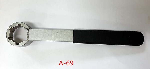 Six-toothed wrench