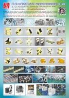 EMI、SMD之精密彈片、緊固件、汽車用電子配件、精密連續沖模
