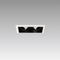 COB LED铝挤框可调盒灯