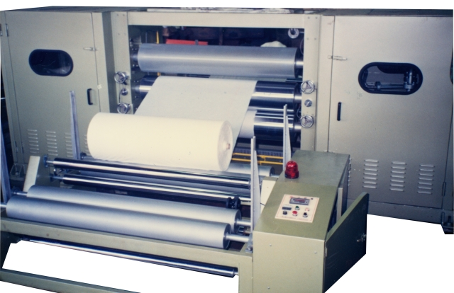 Tri-Roller Embossing Machine & Winding Machine