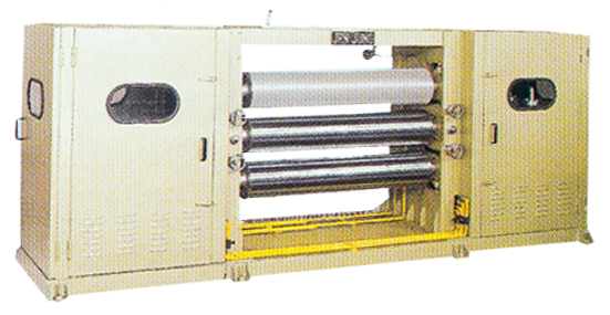 Tri-Roller Embossing Machine