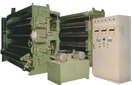 电加热压光机