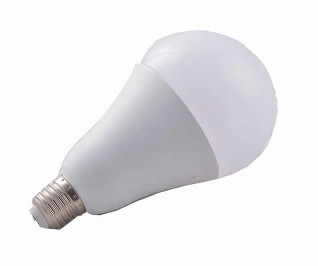 Aluminum and plastic bulb