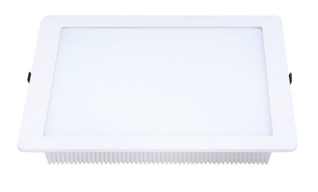 Concealed square panel light