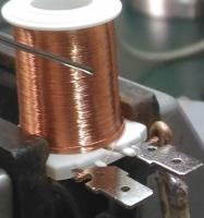 微细马达锡焊接