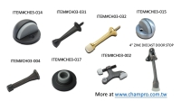 Cens.com DOOR STOPS, DOOR CATCHES, DOOR BUMPER, HINGE PIN DOOR STOP 璨鴻企業有限公司