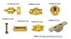 SASH LOCKS, DOOR BOLTS, FINGER LIFT, FLUSH PULL, SASH PULLEY