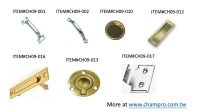 Cens.com DOOR HANDLES, DOOR PULLS, EDGE PULL, CUP PULL, FLUSH PULL  CHAMP PROSPERITY ENTERPRISE CO., LTD.