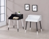 Double-Color Console Table with Wooden Turning Leg