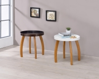 CENS.com Console Table with Wooden Leg