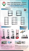 Cens.com DIY shelf series, hand trucks, stamping hardware products TIAN-YUAN INDUSTRIAL CO. LTD.