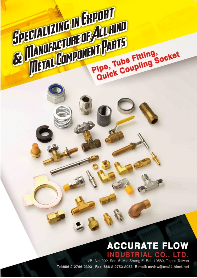 Metal Component Parts  Pipe, Tube Fitting, Quick Coupling Sockets