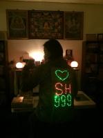 LED 安全警示衣