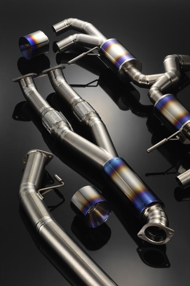 GTR R35 排氣管