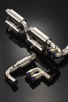 997(996)TT Exhaust system