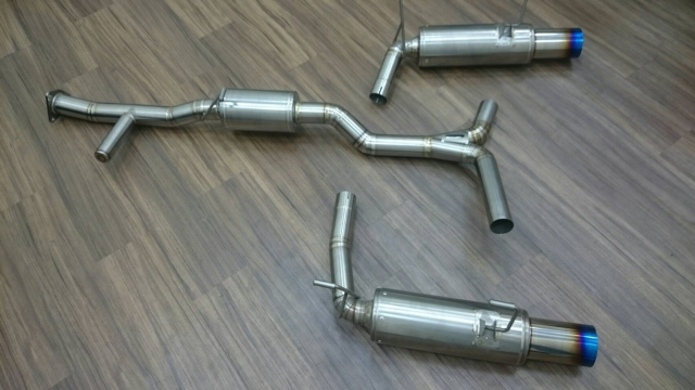 S2000 Exhaust system