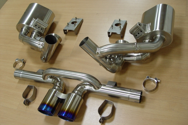 997/991 GT3 Exhaust system