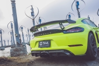 Porsche Carbon fiber rear diffuser