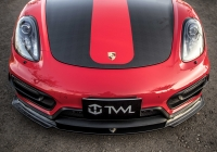 Porsche Carbon fiber front lip