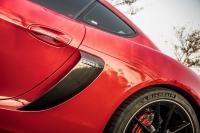 Porsche Carbon fiber side air intakes