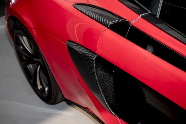 碳纤进气罩贴盖