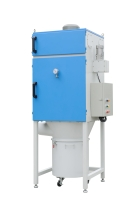 二段式自動吹撥集塵機 (免人工清理濾心)