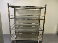 Cleanroom stainless steel racks/shelves