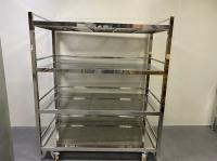 Cleanroom stainless steel racks/shelves