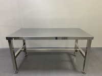 Cleanroom stainless steel working table