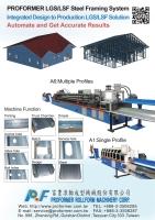 Proformer LGS/LSF Framing System