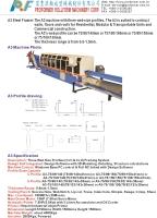 金屬板冷軋(冷彎)滾輪成型機