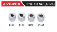 A516204 Drive Nut Set (4 Pcs)