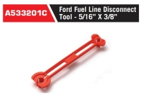 """A533201C Ford Fuel Line Disconnect Tool - 5/16"""" X 3/8"""""""