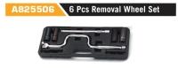 A825506 6 Pcs Removal Wheel Set
