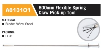 A813101 600mm Flexible Spring Claw Pick-up Tool