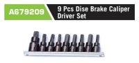 A679209 9Pcs Disc Brake Caliper Driver Set