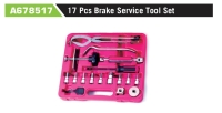A678517 17 Pcs Brake Service Tool Set