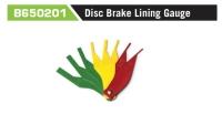B650201 Disc Brake Lining Gauge