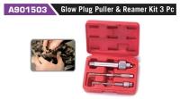 A901503 Glow Plug Puller & Reamer Kit 3 Pc