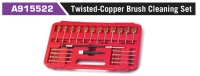 A915522 Twisted-Copper Brush Cleaning Set