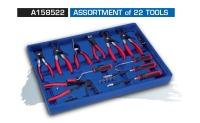 A158522 ASSORTMENT of 22 TOOLS