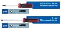 256 Ball-End Hex Screwdriver