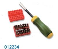 012234 34 pcs Gearless Screwdriver Set