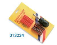 013234 34 pcs Gearless Screwdriver Set