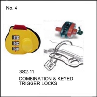 Cens.com Combination & Keyed Trigger  Locks 全大實業有限公司