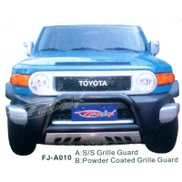 FRONT AND REAR BUMPERS