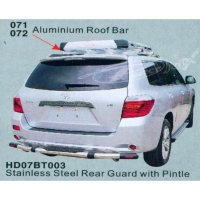 Stainless Steel Rear Guard with Pintle