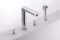 Charming Kitchen Faucet W/Sprayer